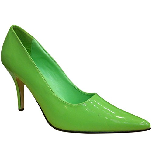 lime Women's green Stiletto Pump Pointed Toe Pierre Shoes Dumas Paulie Bwqnxfzf