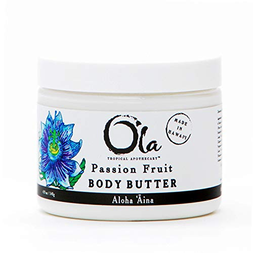 (Ola Tropical Apothecary Passion Fruit Body Butter with Pure Tropical Oils and Plant Extracts - 6 oz)
