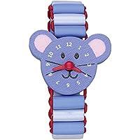 Spiegelburg Meine erste Armbanduhr aus Holz mit beweglichen Zeigern Die Lieben Sieben (Maus Ida)