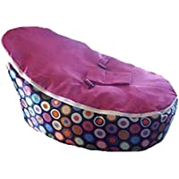 Babybooper Bean Bag, Pink Top Rainbow Burst, 4 Count