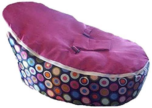 Babybooper Bean Bag, Pink Top Rainbow Burst, 4 Count