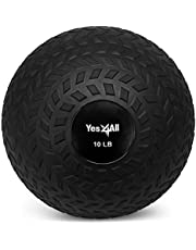 [US Deal] Save on Yes4All Unisex-Adult Yes4All 10 lbs Slam Ball for Strength and Crossfit Workout – Slam Medicine Ball (10 lbs, Black) JLMS, Black. Discount applied in price displayed.