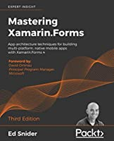 Mastering Xamarin.Forms, 3rd Edition Front Cover