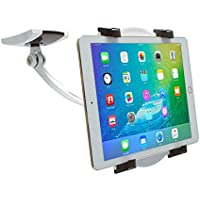 CTA Digital Wall/Under-Cabinet & Desk Mount with 2 Mounting Bases for 7-12 Tablets PAD-WDM