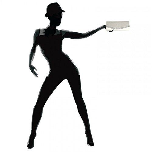 CASPAR Fashion - Cartera de mano con asa para mujer perlmutt