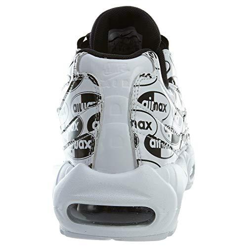 Nike Prm Running Air Max black Scarpe Bianco 103 white 95 Uomo white wrZrqt6W