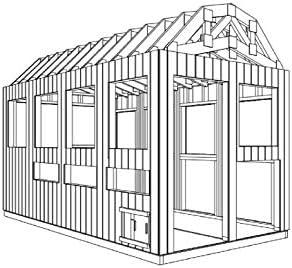 The Best DIY Plans Store Jaula para gallinas de Aves de Corral para jardín o casa de gallinas con Carrera, 8 pies x 16 pies: Amazon.es: Jardín