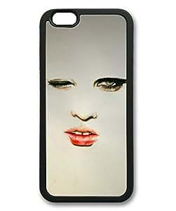 Eye Contact Sakuraelieechyan Iphone 6 Black Sides Rubber Shell TPU Case