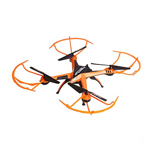 Top Quality Flyer Cyclone Remote Control Drone RC Quadcopter w HD Camera, 2.4GHz 4-Channel w Gyroscope, 360 Degree Flips, Multi Flying Directions, Long flight distance and flight time, Great Fun (Flyer Cyclone Radio)