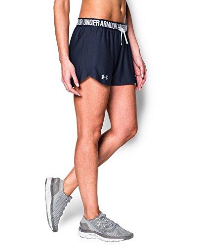 Under Armour Women's Play Up Shorts, Midnight Navy/Midnight Navy, Medium