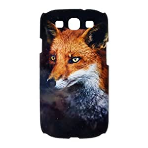 False and Cunning Fox Samsung Galaxy S3 I9300 3D Hard Plastic Phone Case