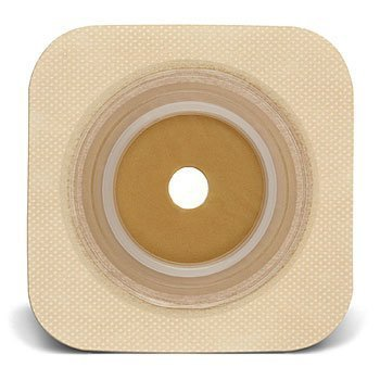 (Convatec Sur-Fit Natura Stomahesive Flexible Wafer With Tan Collar 2 1/4