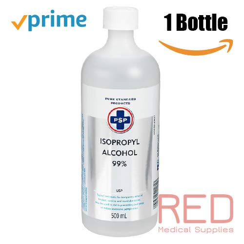 PSP Isopropyl Rubbing Alcohol 99%, 1 Bottle | 500ml