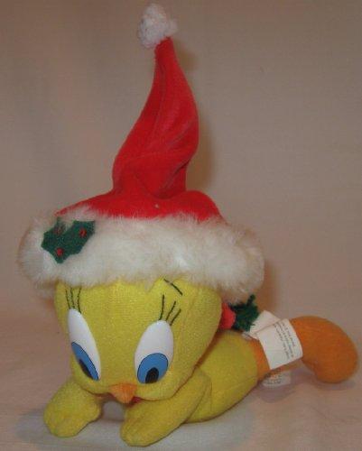 WB Looney Tunes TWEETY BIRD Flying Santa 7