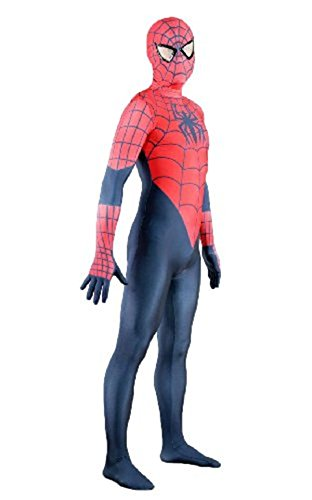Various Man Costumes Spider (Adult Kids Classic Super Hero Role Spider-man Halloween Costume Various)
