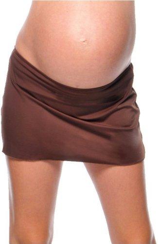 Prego Maternity Women's Cover-Up Swim Skirt - Large brown