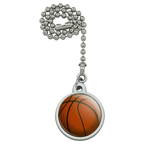 GRAPHICS & MORE Basketball Ball Ceiling Fan and Light Pull Chain