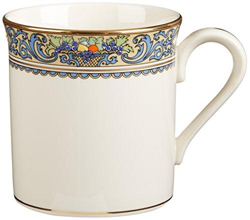 Gold Banded Fine China - Lenox Autumn Gold Banded Ivory China Mug