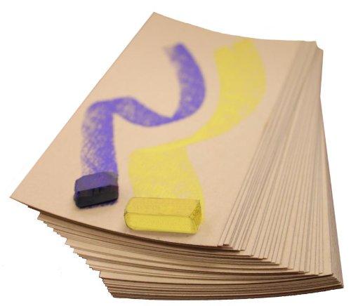 Uart Sanded Pastel Paper M-160272 9-Inch/12-Inch No.320 Grade Paper, 10-Pack by UART Sanded Pastel Paper