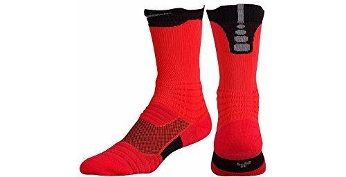 Nike Elite Versatility Crew Basketball Socks XL
