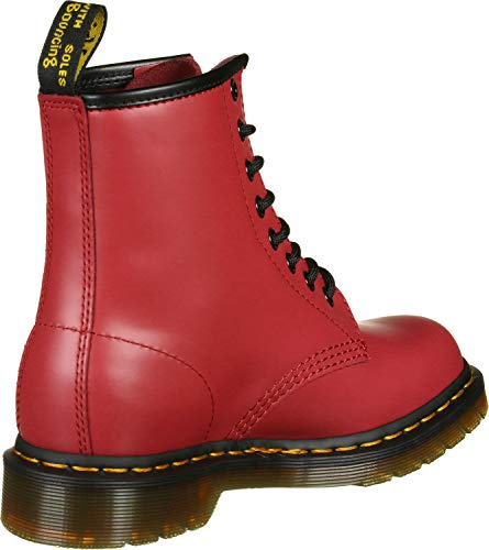 Red smooth tops Dr satchel it martens 1460 Red Dm24614636 High Satchel Red Damskie 6ng4f6wOq