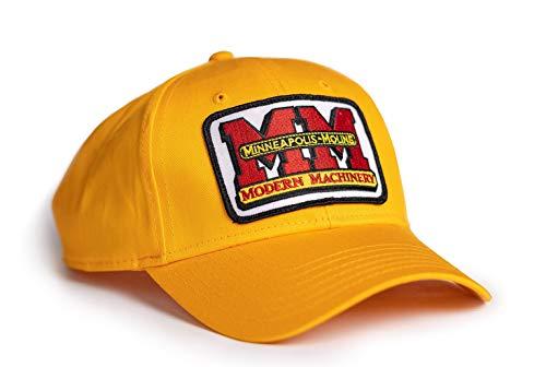 J&D Productions Minneapolis Moline Tractor Logo Hat, Gold