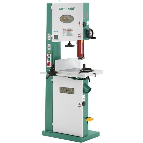 Grizzly G0513X2BF 2 HP Extreme-Series Bandsaw with Cast-Iron Trunnion and Foot Brake, 17-Inch by Grizzly