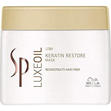 Wella SP Luxe Oil Keratin Restore Mask Reconstructs Hair Fiber 400ml 13.5oz