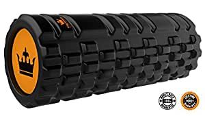 - Foam Roller for Muscle Exercise and Myofascial Massage :: Physical Therapy, Grid Textured Fitness Rollers Best For Stretching, Tension Release, Pilates & Yoga - Black