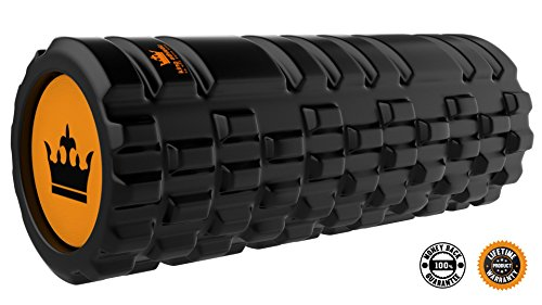 Foam Roller for Muscles Exercise and Myofascial Massage :: Physical Therapy, Grid Textured Fitness Rollers Best For Stretching, Tension Release, Pilates & Yoga
