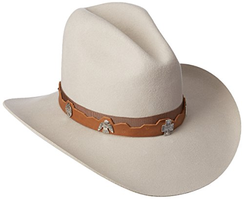 Bailey Western Men's Hobson Cowboy Hat, Mist, 7.375