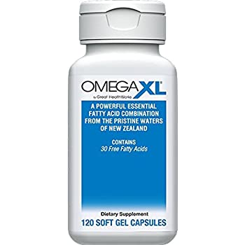 OmegaXL® 120 Count - Omega 3 Free Fatty Acids, Ultra Effective NATURAL Pain Relief Supplement helps with JOINT PAIN & INFLAMMATION - No fishy aftertaste ...