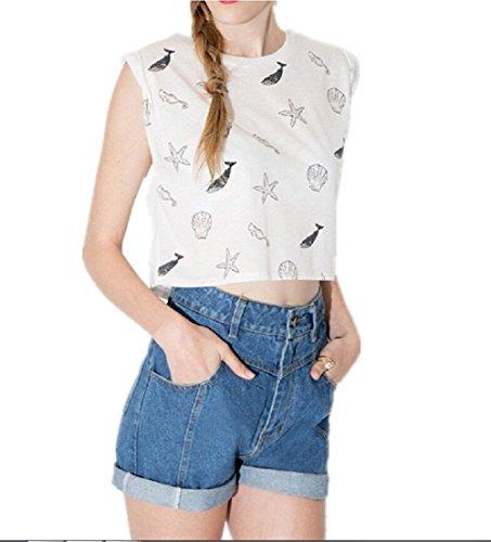 Mcdslrgo - Camiseta sin mangas - para mujer