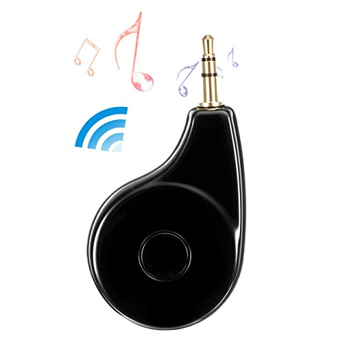 Bluetooth 4.2 Receiver, Bluetooth Transmitter, TVIRD Wireless Audio Adapter 3.5mm Aux output suitable for Home/Vehicle Music Streaming Sound System, TV, MP3, CD Player, PC (Bluetooth 4.2,aptX, A2DP)