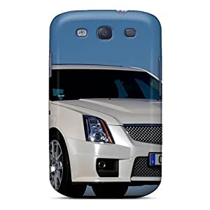 NikRun Case Cover For Galaxy S3 - Retailer Packaging Cadillac Cts V Sport Wagon 2011 Protective Case by icecream design