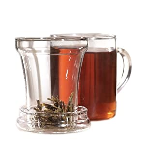 Primula 12-Ounce Personal Tea Maker Set, Clear