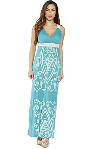 Just Love 4960-54-M Green Women Dresses/Maxi Dress/Summer Dresses