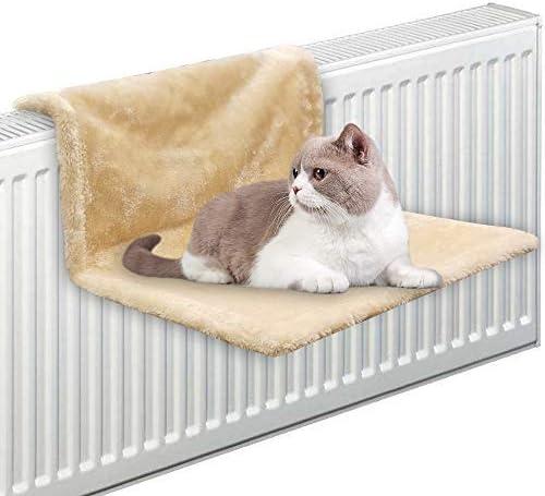 Pawise - Cama cálida y acogedora para el radiador de mascotas con forro polar para cuna, hamaca