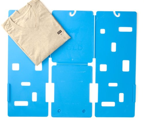 Miracle Fold Laundry Folder Clothes T-Shirts Pants Towels Organizer Fast Easy and Fun Time Saver (Folder Flip Shirt T Flop)