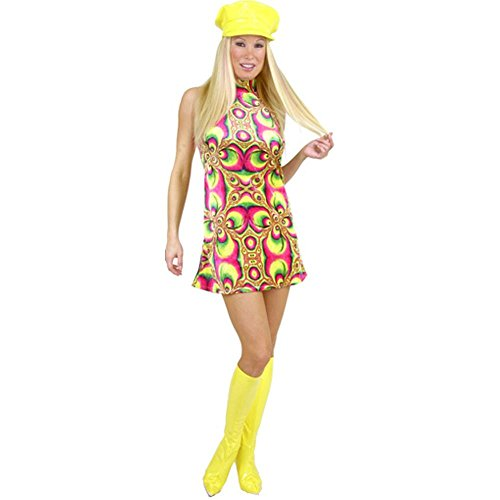 60s Go Go Dress (Go Go Dress Costume Adult - Adult Medium)
