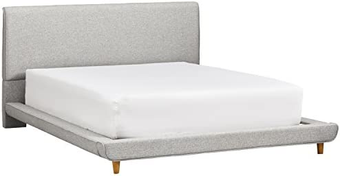 Rivet York Modern Extended Platform Queen Bed