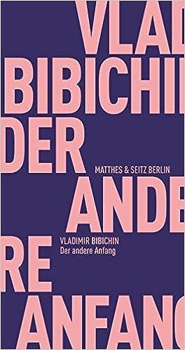 61d3073c20 Der andere Anfang (Fröhliche Wissenschaft): Amazon.de: Alexander ...