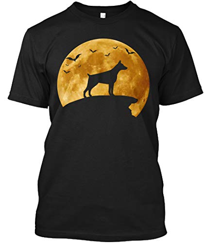 Halloween Costumes for Dog Doberman 5XL - Black Tshirt - Hanes Tagless Tee -