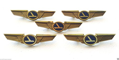 Aviator Kids Vintage Pilot Wings Plastic Pins Lot of