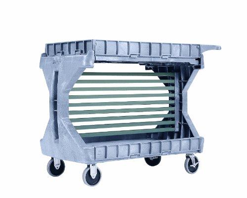 Akro-Mils 30906 Optional 9 Rail Kit for Hanging AkroBins on 30936 Large ProCart, Grey