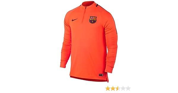 24d0d94c6 Amazon.com : Nike Youth Dry FC Barcelona Squad Top [Hyper Crimson] (XL) :  Sports & Outdoors