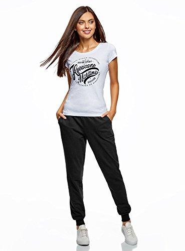 Negro Con Pantalones Punto 2900n De Ultra Cordones Oodji Mujer x0XqHwWp