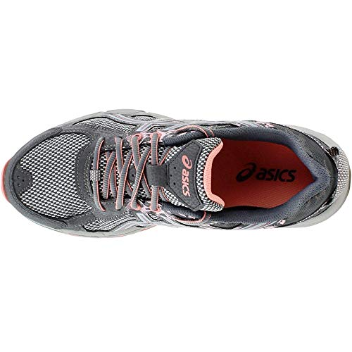 ASICS Gel-Venture 6 Women's Running Shoe, Carbon/Mid Grey/Seashell Pink, 5 M US by ASICS (Image #5)