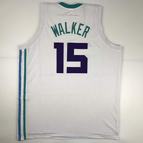 Unsigned Kemba Walker Charlotte White Custom Stitched Basketball Jersey Size Men's XL New No Brands/Logos