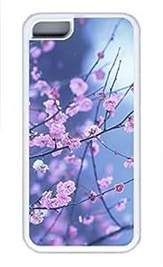 iPhone 5c case, Cute Plum Blossom iPhone 5c Cover, iPhone 5c Cases, Soft Whtie iPhone 5c Covers
